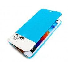 Capa Livro Samsung Galaxy S5 Pantone Universe FlipCover Turquesa R$75,30