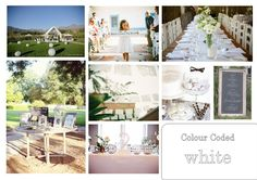 Wedding Vision Board Event Styling, Wedding Events, Boards, Table Decorations, Furniture, Color, Home Decor, Style, Planks