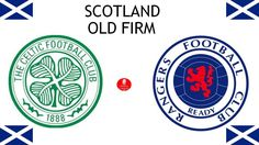 Scotland Old Firm), Celtic Football Club < > Rangers Football Club Rangers Football, Rangers Fc, Football Match, Old Firm, Celtic Fc, Glasgow, Scotland, Logo Design, Sports Logos