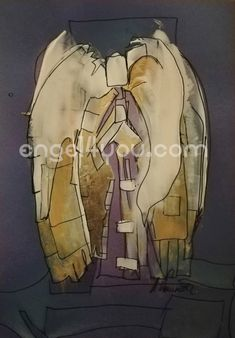 "Bild ""Engel"" ; Unikat, handsigniert, ca 21 x 29 cm engel4you.com Art, Guardian Angels, Christmas, Art Background, Kunst, Performing Arts, Art Education Resources, Artworks"