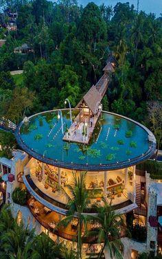 Vacation Places, Dream Vacations, Vacation Spots, Resorts, Resort Bali, City Resort, Resort Villa, Luxury Homes Dream Houses, Dream Pools