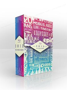 Création d'un coffret de fin d'année pour le groupe fox Pathé Europa. • www.laureamer.com •