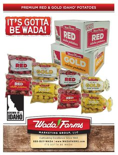 Wada Farms - Potato Sell Sheets