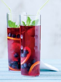 Hibiscus Pomegranate Cooler from Longevity Kitchen by The Recipe Club, via Flickr