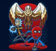 Rick and Morty • Spiderman