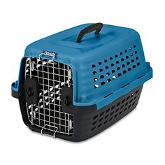 Petmate Compass Fashion Kennel 19L x 127W x 115H BlueBlack 5ct * Check out the image by visiting the link.-It is an affiliate link to Amazon. #DogCarrierTravel