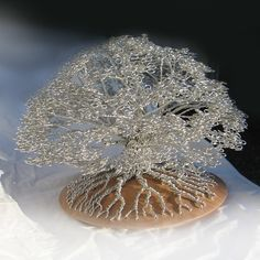 Artist Tightly Winds Wire to Create Beautiful Tree Sculptures without Adhesives - My Modern Met