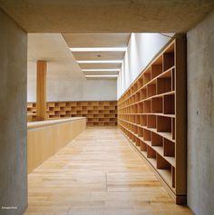 Bruno Fioretti Marquez Architekten, Christoph Rokitta, Annette Kisling · Biblioteca Ebracher Hof, Schweinfurt · Divisare