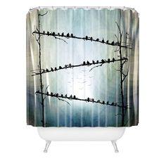 Viviana Gonzalez Barricade Shower Curtain   DENY Designs Home Accessories  #DENYWISHLIST