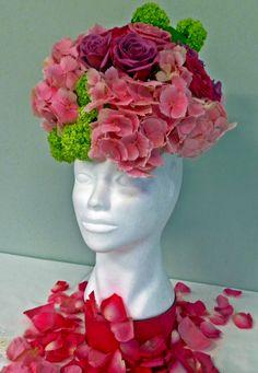 cabeza floral
