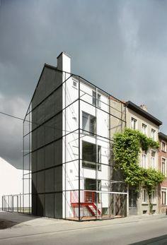 architecten de vylder vinck taillieu, Filip Dujardin · KAVEL Houses · Divisare