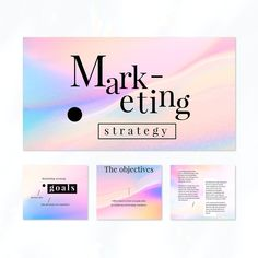 Pastel marketing strategy template set vector | premium image by rawpixel.com / Mind Social Media Template, Social Media Design, Vector Can, Vector Free, Advertisement Template, Marketing Strategy Template, Get More Followers, Direct Marketing, Sale Promotion