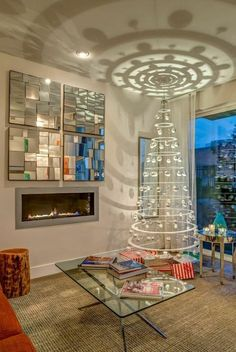 Enjoy The Holiday With A Fuss Free Modern Christmas Tree