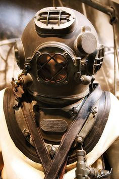 U.S. Navy Mark V Deep Diving Suit at the U.S. Navy Museum