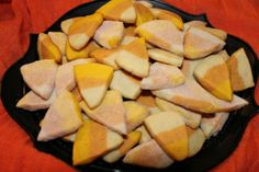 Candy Corn Sugar Cookies | Suitcases & Sweets