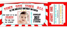 Digital Invitations and party supplies by Party Express Invitations Circus Tickets, Train Tickets, Circus Birthday Invitations, Mickey Mouse Balloons, Party Express, Circus Train, Unicorn Balloon, Rose Gold Balloons, Digital Invitations