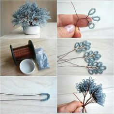 Com - - Beste 12 lila Weben Perle - SkillOfKing.Com - Jolande Brullemans Best 12 lilac weave bead – SkillOfKing.Com Beste 12 lila Webperle - SkillOfKing. Wire Crafts, Bead Crafts, Jewelry Crafts, Wire Jewelry, Beaded Jewelry, Beaded Bracelets, Twine Flowers, Art Perle, Wire Tree Sculpture