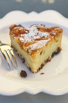 torta di mele e uvetta fetta web