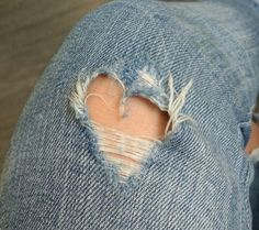 ripped jeans, seamless adoration