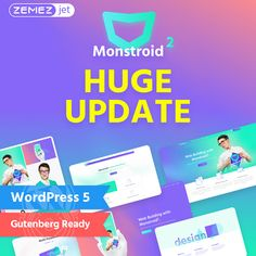 Meet the Best Multipurpose WordPress Theme for the Smooth Performance in the Web!Meet the - upgraded and for sure the best multipurpose WordPress Best Wordpress Themes, Online Resume Template, Digital Advertising Agency, Best Website Templates, Joomla Templates, Web Design Projects, Website Themes