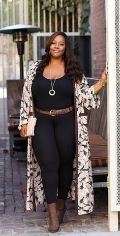 Beautiful Plus Size Women's Winter Outfit Iea . Plus Size Winter Outfits, Plus Size Fashion For Women, Winter Outfits Women, Fall Fashion Outfits, Plus Size Women, Plus Size Outfits, Autumn Fashion, Casual Outfits, Travel Outfits