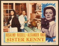 """""""SISTER KENNY"""" MOVIE POSTER"""