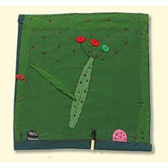 Janet Bolton textile art work.