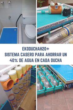 Ahorrar agua en cada ducha es posible gracias a EkoduchaH2O+, un producto sostenible que tira de ingenio y de recursos al alcance de cualquiera.