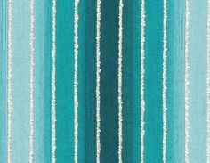 Ombre Fabric Turquoise - Modern Striped Upholstery Yardage - Teal Stripe - Textured Material - Woven Fabric - Home Decor Teal