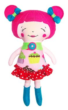 Yadira's Crafty Adventures: I Love My Dolly! :D (pattern by Dolls and Daydreams)