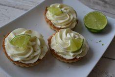 ŽENA-IN - Tartaletky s limetkovým mascarpone Cheesecake, Food And Drink, Cookies, Desserts, Recipes, Mascarpone, Bakken, Crack Crackers, Tailgate Desserts