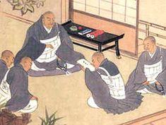 nichiren daishonin   La Ilustración muestra una imagen de Nichiren Daishonin , cuando le ...
