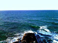 El Mar Caribe en la Guajira, Cabo de la Vela.