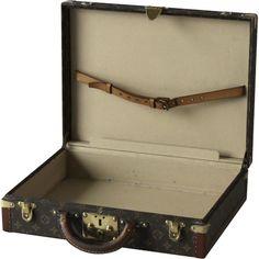 Louis Vuitton Briefcase - Louis Vuitton - Brands - Vintage Luggage ...
