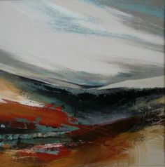 """""""Evening on the moors"""" by Jenny Hirst"""