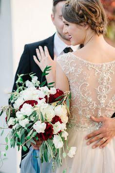 bridal bouquet idea; photo: Lana Ponomarenko Photography