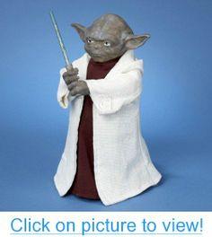 Kurt Adler SW9902 Star Wars Yoda with LED Light Saber 12-Inch Tree Topper #Kurt #Adler #SW9902 #Star #Wars #Yoda #LED #Light #Saber #12_Inch #Tree #Topper