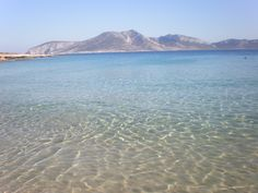 crystal sea at #koufonisia , #greece