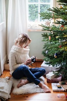 Staying cozy indoors over this holiday season All I Want For Christmas, Winter Christmas Gifts, Christmas Mood, Christmas Morning, Holiday Fun, Holiday Decor, Xmas, Christmas Jumpers, Christmas Ideas