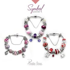 #BLOG Como deixar uma pulseira de berloques com seu estilo? A gente te ajuda: http://pol.vu/1jq Você vai ARRASAR