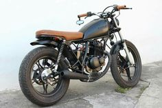 Scrambler Motorcycle Bmw Custom Bikes 57 Ideas For 2019 Cb750 Cafe Racer, Suzuki Cafe Racer, Cafe Racer Bikes, Cafe Racer Build, Scrambler Motorcycle, Brat Motorcycle, Brat Bike, Tracker Motorcycle, Vintage Bikes
