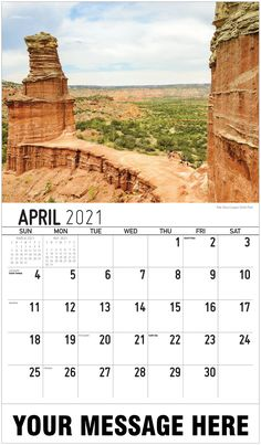 2021 Texas Scenic Wall Calendars low as Imprinted for Business Advertising. Promote your business name, logo and ad message all year! Date Squares, Calendar App, Us Holidays, Free Advertising, Historical Sites, State Parks, Monument Valley, North America, Digital Marketing