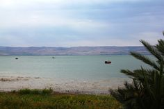 Ginosar shores on the Galilee