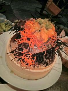 Uni explosion at Bluefin Sushi in SF