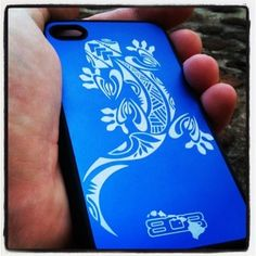 Beautiful iPhone case crafted by local Maui artist