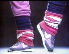 I'm ready for leg warmers to make their way back as a staple to every girl and woman's wardrobe.  Who's with me?