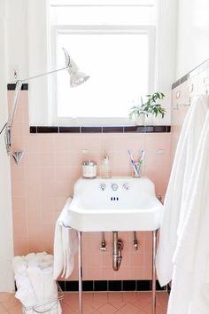 Rethinking Pink: 9 Bathrooms in Blush Tones - Remodelista