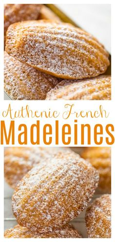 Madeline Cookies Recipe, Cookie Recipes, Dessert Recipes, Dessert Bread, Madelines Recipe, Cheap Meals, Easy Meals, French Food, French Stuff