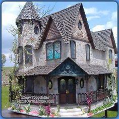 Greenleaf Pierce Dollhouse Kit   Details about Beautiful Victorian PIERCE Greenleaf Dollhouse Kit ~ New ...