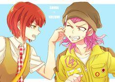 Image de kazuichi, danganronpa, and souda